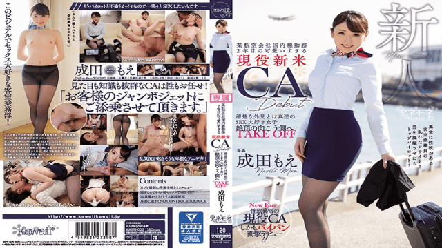 Kawaii  KANE-005 A Certain Airline Company Domestic Work Second Year Too Cute Too Much Active Citizen CA CA Debut