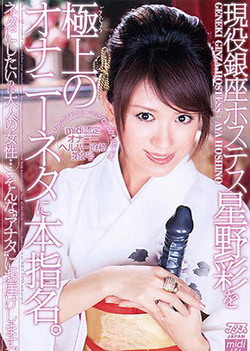 Aya Hoshino naughty Asian babe in sexy cosplay pov adventure