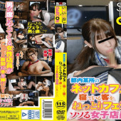 SOSORUXGARCON GS-104 Guests Sleeping In The Net Cafe In Tokyo Somewhere, Seems Soggy There Are Tantalizing Female Clerk To Be Captivated By Blow.