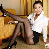 Pacopacomama Akasaka Elena - Nasty woman of black pantyhose