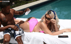 Brazzers Sunbathing Distraction Isiah Maxwell, Assh Lee