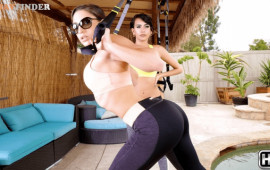 RealityKings Training My Neighbor Abella Danger, Charles Dera, Janice Griffith