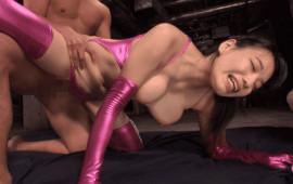 KM Produce XRW-415 AV Big Breasts G Cup Girls Cum Into The Sky Big SEX Amano Akira