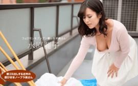 1Pondo 090818_740 Morning garbage draw out Neighborhood play lover Nobra wife Suwon Reiko