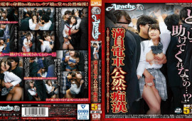 Appachi AP-582 Crowded Train Openly Molested - A Woman Who Is Unlikely To Be Helped By Anyone But Has Been Daunted
