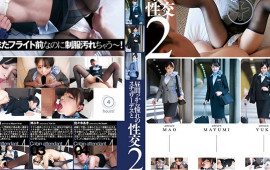 Sex with a Lustful Stewardess Starting At Noon 2 - Inserted It Into Her Clothes Before The Flight 4 Hours