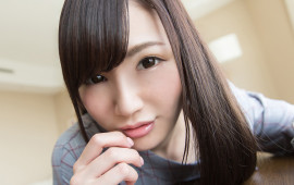 感度高めの美少女のお顔に顔射SEX/Mai | S-Cute